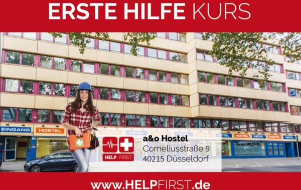 Erste Hilfe Kurse in Düsseldorf