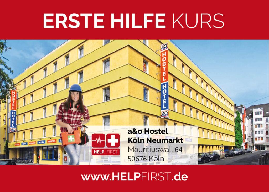 Erste Hilfe Kurse in Köln