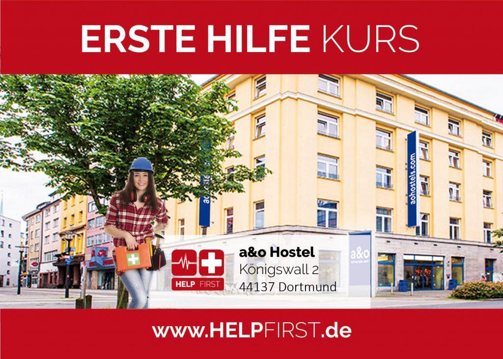 Erste Hilfe Kurse in Dortmund