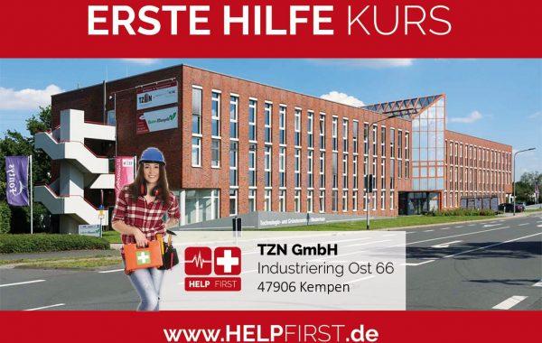 Erste Hilfe Kurse in Kempen