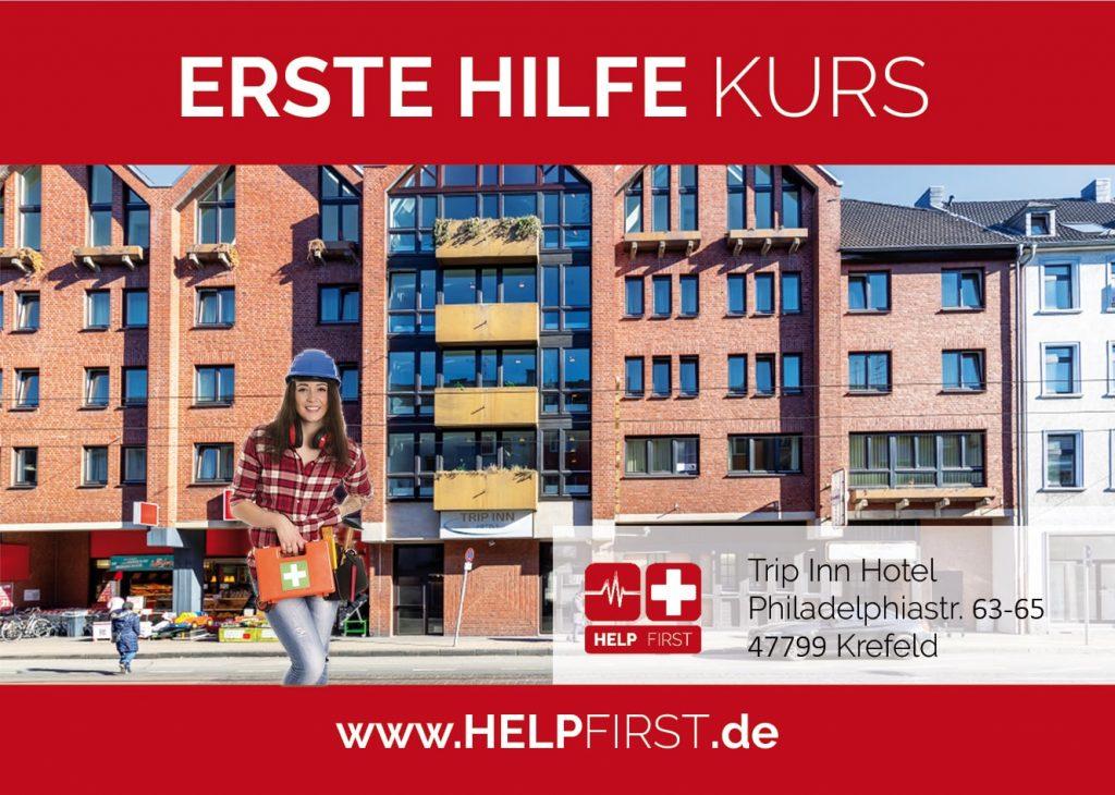 Erste Hilfe Kurse in Krefeld