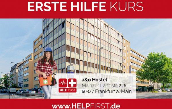 Erste Hilfe Kurse in Frankfurt am Main